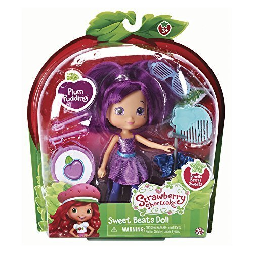 The Bridge Direct, Strawberry Shortcake, Sweet Beats, Plum Pudding Doll, 6 Inches by The Bridge Direct