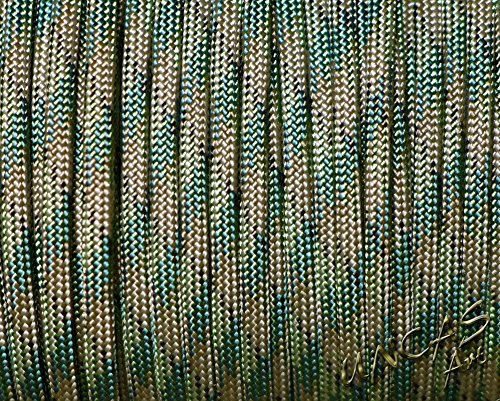 Original bracelet en paracorde 550 tYPE 3–30 m corde cAMOUFLAGE camo couleur dark