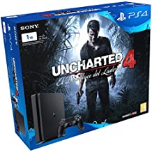 PlayStation 4 Slim (PS4) 1TB - Consola + Uncharted 4