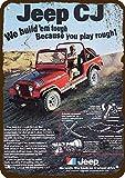 1979 Jeep Cj Renegade SUV 4x4 Vintage Look Replica Metal Sign 7