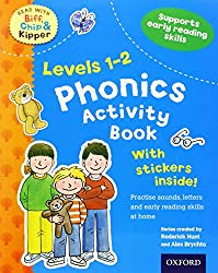 Oxford Reading Tree Read With Biff, Chip, and Kipper: Levels 1 to 2. Phonics Activity Book