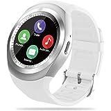 FENHOO Smartwatch-telefon, fitnessmätare klockor för kvinnor män barn med SIM-kortplats, smartklocka med samtalsmeddelande på