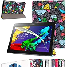 "Lenovo Tablet2-X30F / A10-30 Ultra Funda,Mama Mouth Ultra Slim Ligera PU Cuero Con Soporte Funda Caso Case para 10.1"" Lenovo TAB 2 A10-30 / Tablet2-X30F Android 5.1 Tablet,Church window"