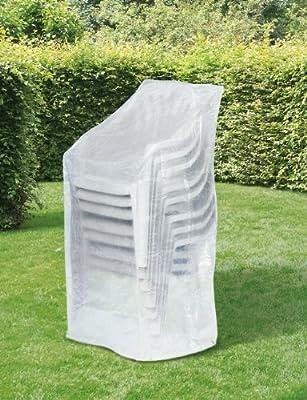 Schutzhülle Wehncke Classic für Stapelsessel 65x65x150cm transparent von Wehncke - Gartenmöbel von Du und Dein Garten