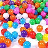 Schramm® 200 Stück Bälle für Bällebad 5,5cm Bälle für Kinder Bällebäder Babybälle Plastikbälle Ballpool Ohne Weichmacher 200er Pack