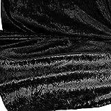 TOLKO Stoff-Ballen |10m| Pannesamt Stoffpaket - Dekostoff