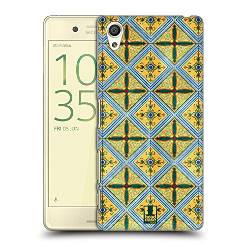 613EoxvyHrL - NO.1 BEAUTY# Head Case Designs Ceramic Arabesque Pattern Hard Back Case for Sony Xperia X / X Dual Reviews  Best Buy price