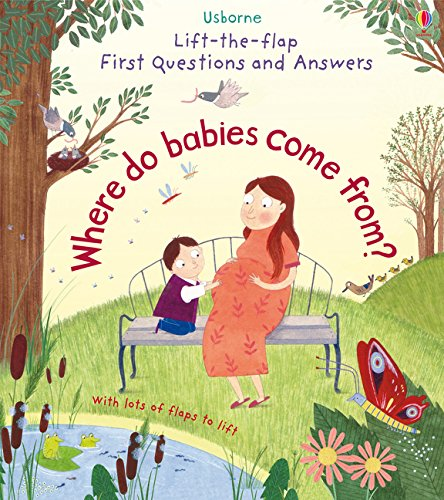 Lift The Flap First Questions & Answers Where Do Babies Come From? (Lift the Flap First Questions and Answers) por Katie Daynes