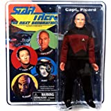Star Trek The Next Generation Retro Cloth Series 8 Picard Action Figure