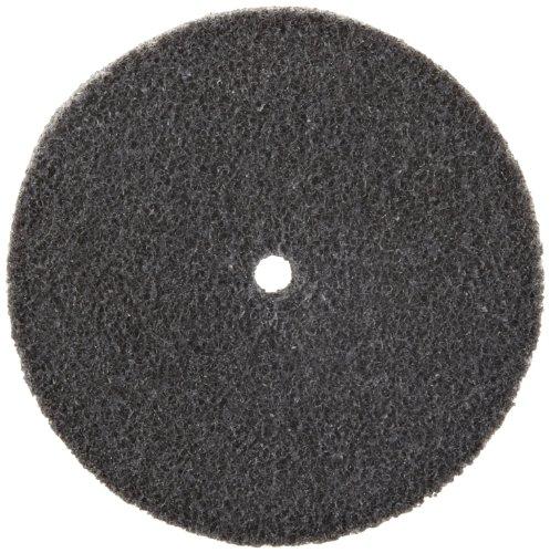 Scotch-Brite Exl geschlossenen Rad, Aluminiumoxid, 4500U/min, 15,2cm Durchmesser, 2,5cm Arbor, 2A, mittlere Körnung (1Stück), Diameter(in) :3 /Width(in) :0.75 /Center Hole Diameter :0.25 Inch, 10