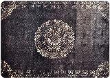 deco-mat Orientteppich – Fussmatte Orient – Fussmatte Innen Rutschfest und waschbar – Schmutzfangmatte/Fussabtreter 50x70 cm