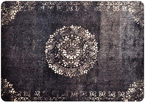 deco-mat Fußmatte Orient - Fussmatte Innen Außen - rutschfest und waschbar - Schmutzfangmatte - Türmatte - Fussabstreifer 60x90 cm