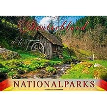 Deutschland - Nationalparks (Wandkalender 2018 DIN A2 quer): Jeden Monat eine beeindruckende Aufnahme aus Deutschlands Nationalparks. (Monatskalender, 14 Seiten ) (CALVENDO Orte)
