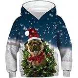 Zerototens Boys Sweatshirt,4-11 Years Old Boys Girls 3D Print Hooded Tops Children Jumper Child Pullover Tops Kids Gift