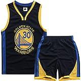 MJLAD Trajes de Baloncesto para niños, Chalecos y Pantalones Cortos, Camisetas clásicas, Tela de poliéster, Regalos para niño