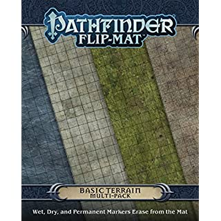 Pathfinder JUN132387 Flip-Mat: Basic Terrain Multi-Pack