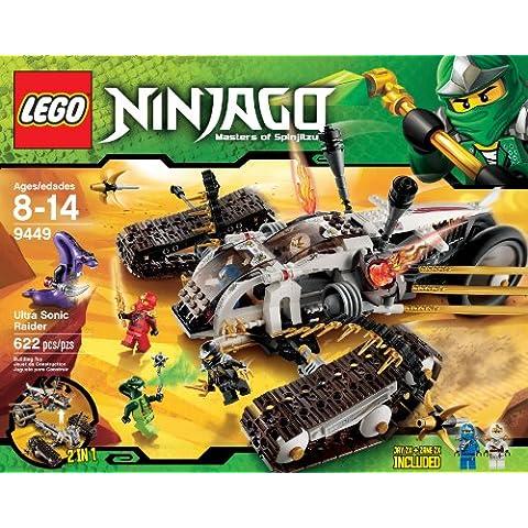 LEGO Ninjago Ultra Sonic Raider establece 9449