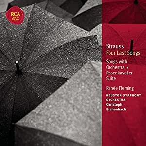 Strauss R. - Quatre derniers lieder / Chansons avec orchestre (Coll. Classical Library)