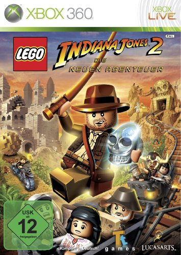 Lego Indiana Jones 2 - Xbox Indiana Jones Lego