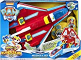 Paw Patrol - 6053098 - Jeu enfant - Supersonic Jet Mighty Pups - La Pat' Patrouille