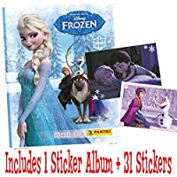 Panini Disney Frozen enchanted moments sticker starter pack (1 Album and 31 stickers)