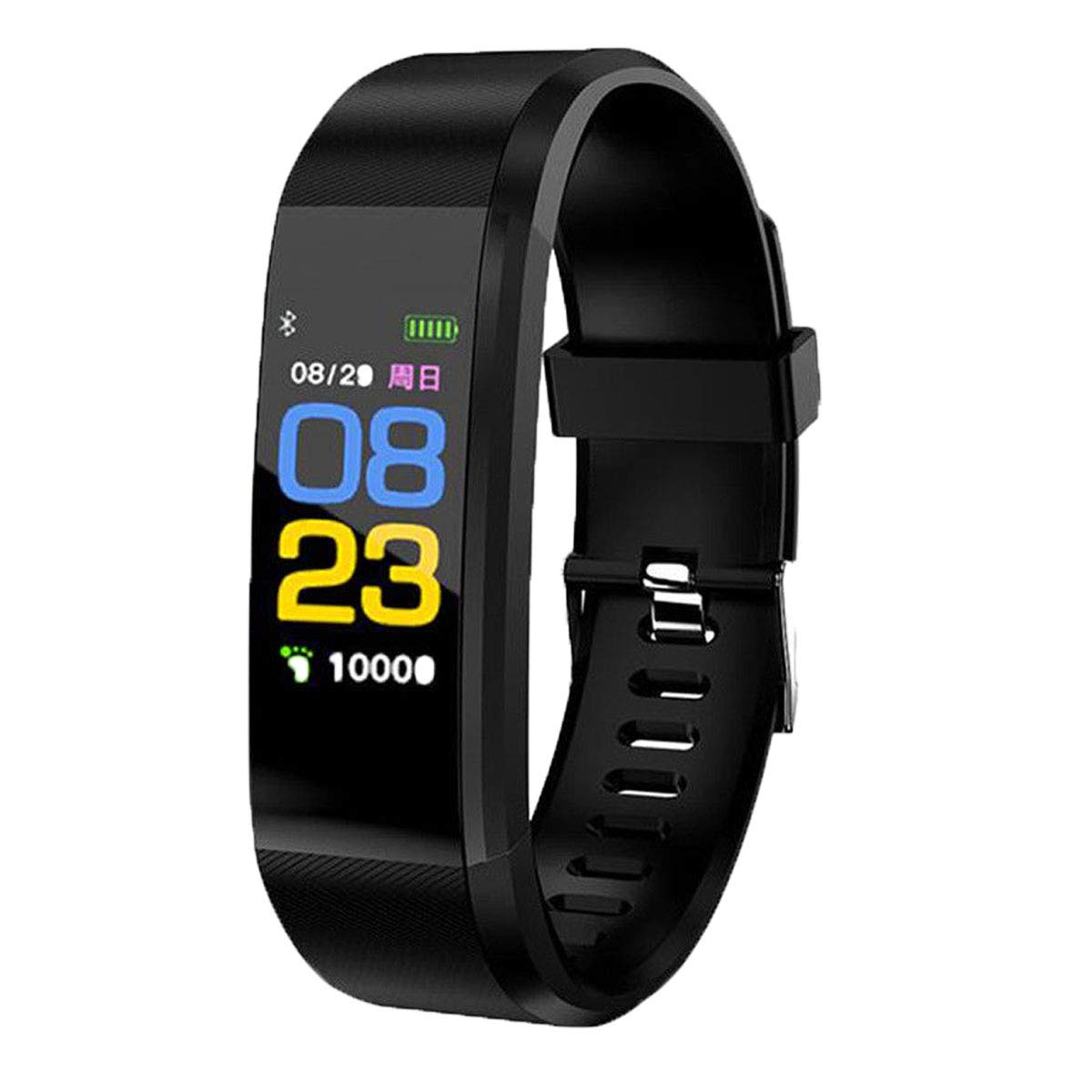 Cozyroom Heart Rate Monitor Customized Activity Fitness Tracker Smart Bracelet Wristband Wireless Smart Watch Sports Activity Tracker Compatible iOS and Android for Girls Children Women Men