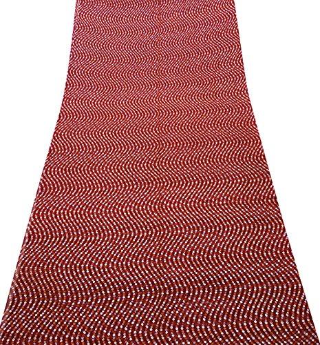 Indianer-muster-krawatte (Indische Traditionelle Bollywood Saree Bandhani Rajasthani Hochzeit Tragen Ethnische Sari)