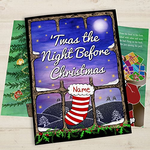 personalised-twas-the-night-before-christmas-hardback-cover