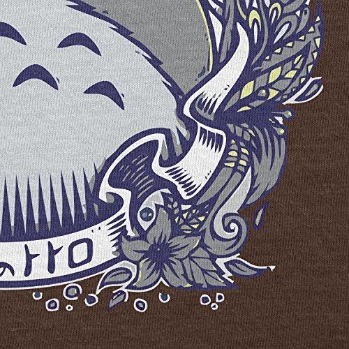 NERDO - Nachbarn - Herren T-Shirt Braun