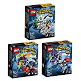 LEGO DC Super Heroes 3er Set Mighty Micros 76068 76069 76070 Superman vs Bizarro + Woman vs Doomsday + Batman vs Killer Moth