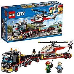 LEGO City - Le transporteur d'hélicoptère - 60183 - Jeu de Construction