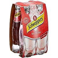 Schweppes Russian Wild Berry Mehrweg (4 x 200 ml)