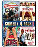Comedy 4-Pack Volume 2 (TV The Movie / Cattle Call / Pigs / Postal)