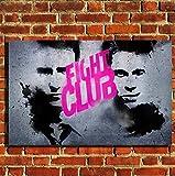 Box Prints Fight Club Film Leinwand Wand Kunstdruck Bild groß Klein
