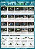 Funktionelles Faszientraining mit der BLACKROLL®: Großes DIN-A1-Poster mit 30 Übungen für Mobilität, Stabilität und Kraft sowie zur Selbstmassage