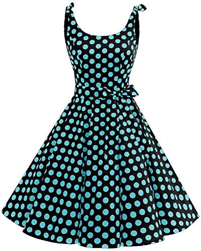 Bbonlinedress Vestidos de 1950 Estampado Vintage Retro Cóctel...