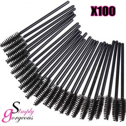 100-x-simply-gorgeous-disposable-eyelash-mini-brush-mascara-wands-applicator