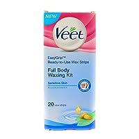 Veet Full Body Waxing Kit - Normal Skin (Pack of 2)