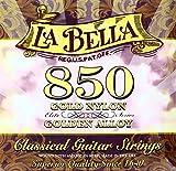 La Bella Professional Studio Jeu de cordes pour Guitare électrique Concert Golden Alloy