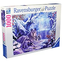 Ravensburger-19704-Winterwlfe-Puzzle Ravensburger Puzzle  19704 – Winterwölfe – 1000 Teile -