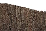 VERDELOOK Arella in Erica Naturale Spessa 1.5 cm Circa, 1x5 m, per Decorazioni e recinzioni