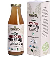 Brewvin Organic and Raw Apple Cider Vinegar - 500 ml