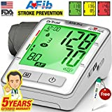Dr Trust Atrial Fibrillation Automatic Digital Bp Monitor Machine (Includes Adapter, Carry Bag, Batteries, Thermometer)