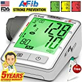 #10: Dr Trust Atrial Fibrillation Automatic Digital Bp Monitor Machine (Includes Adapter, Carry Bag, Batteries, Thermometer)