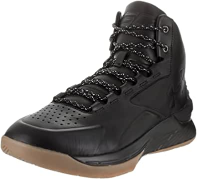Under Armour, Curry 1 Lux Mid Leather, Scarpe, Stivaletto, Pelle