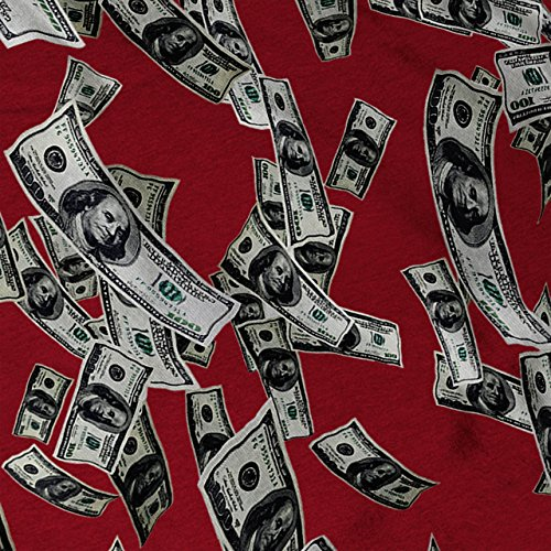 Geld Dollar Kasse Mode Bank Hinweis Damen S-2XL Muskelshirt | Wellcoda Rot