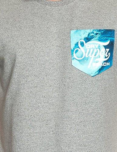 Superdry Shirt GREY GRIT