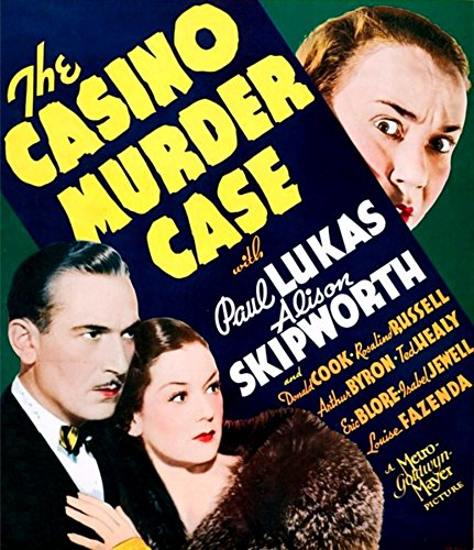 Casino Case Das Murder (The Casino Murder Case U Movie Poster Masterprint (60,96 x 91,44 cm))