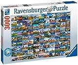 Ravensburger 99Schöne Places in Europa, 3.000Teilen Puzzle