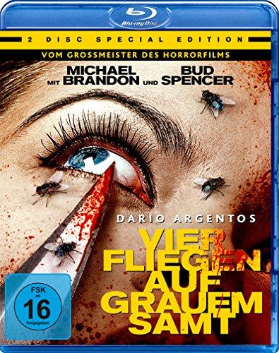 Dario Agentos Vier Fliegen auf grauem Samt - Special Edition (+ DVD) [Blu-ray]